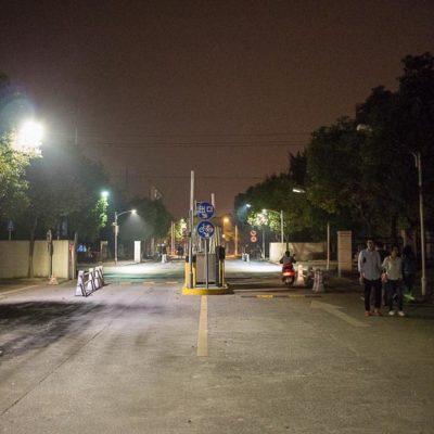 Exkursion, China: Huzhou bei NachtFoto: Patrick Beuchert / www.patrick-beuchert.de