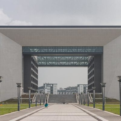 Exkursion China, Tag 2: Führung über das Campusgelände Foto: Patrick Beuchert / www.patrick-beuchert.de