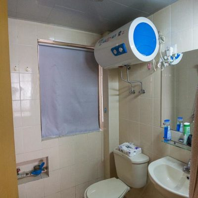 China Exkursion FHWS nach Huzhou: Bad/WC Unterkunft Foto: Patrick Beuchert / www.patrick-beuchert.de