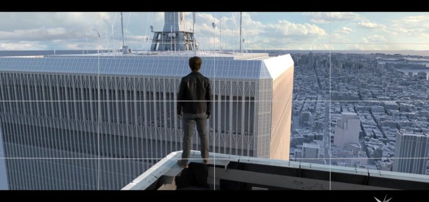 Visual Effects Breakdown Reel von The Walk Screenshot